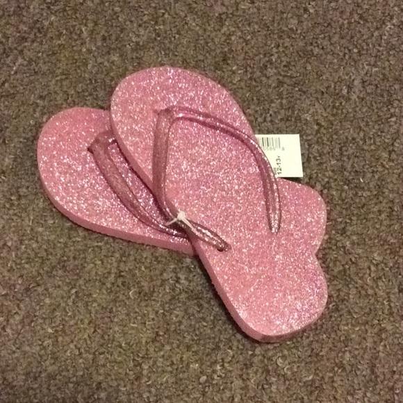 Pink Glitter Flip Flops | Poshmark